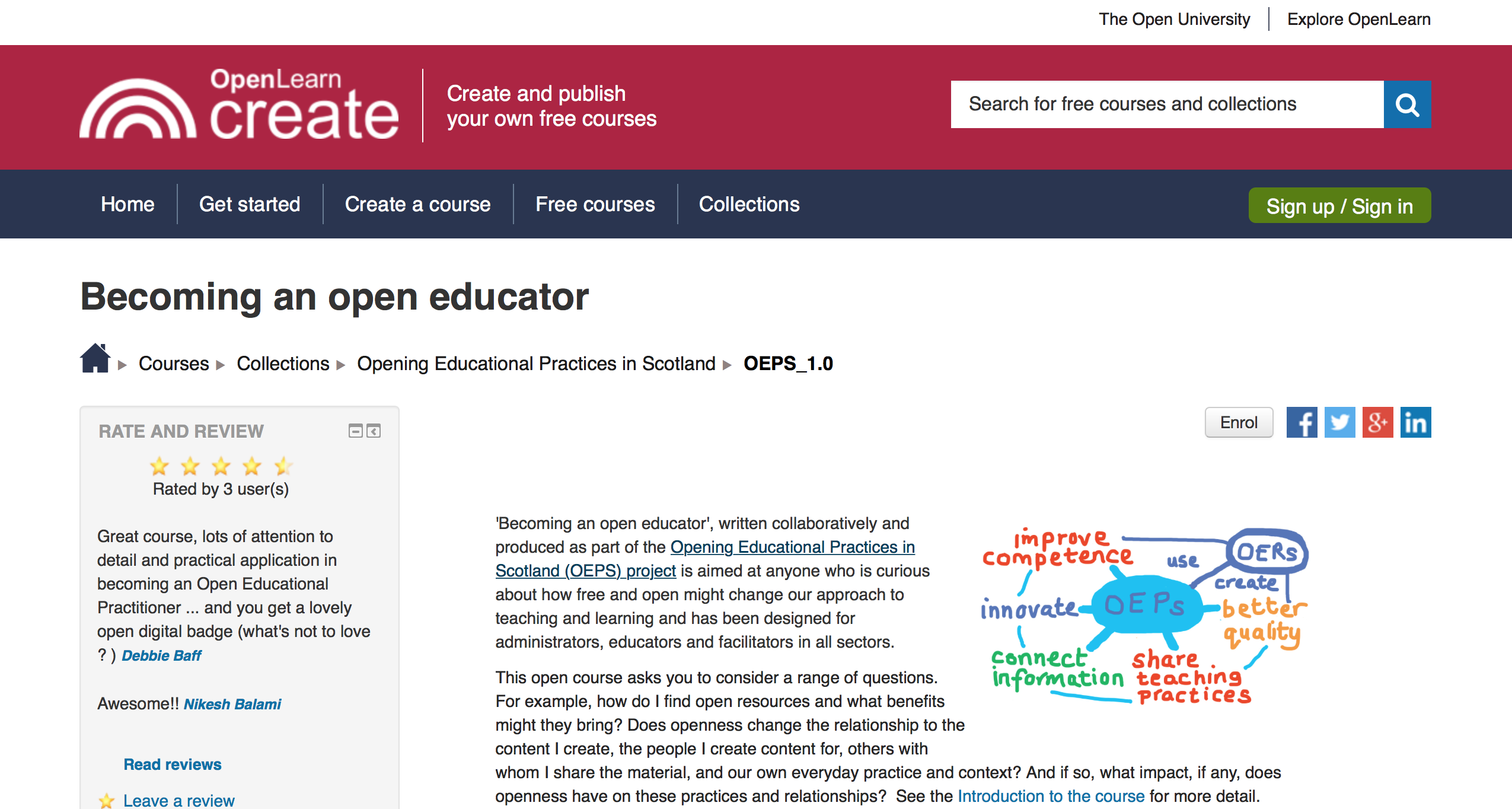 Becoming an Open Educator