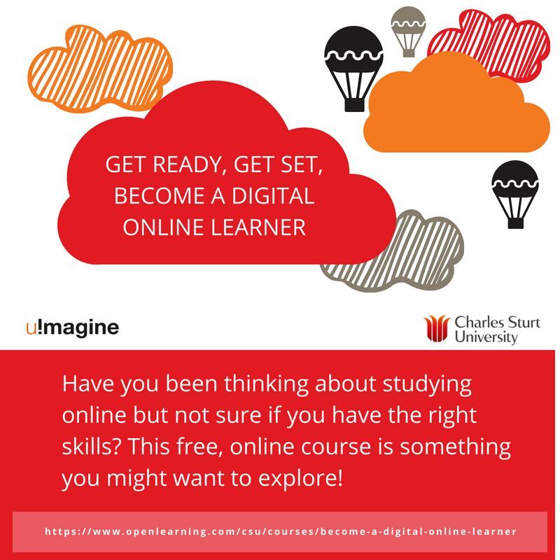 Get ready, get set, become a digital online learner
