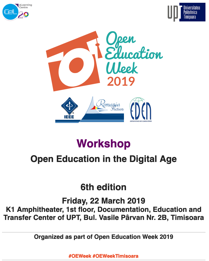 Open Education in the Digital Age Workshop