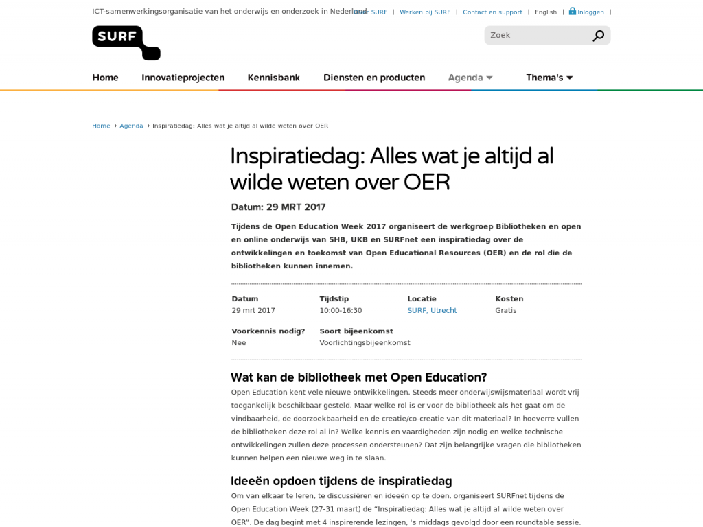 Library OER Inspiration Day