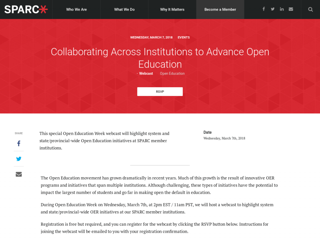 Collaborating Across Institutions to Advance Open Education