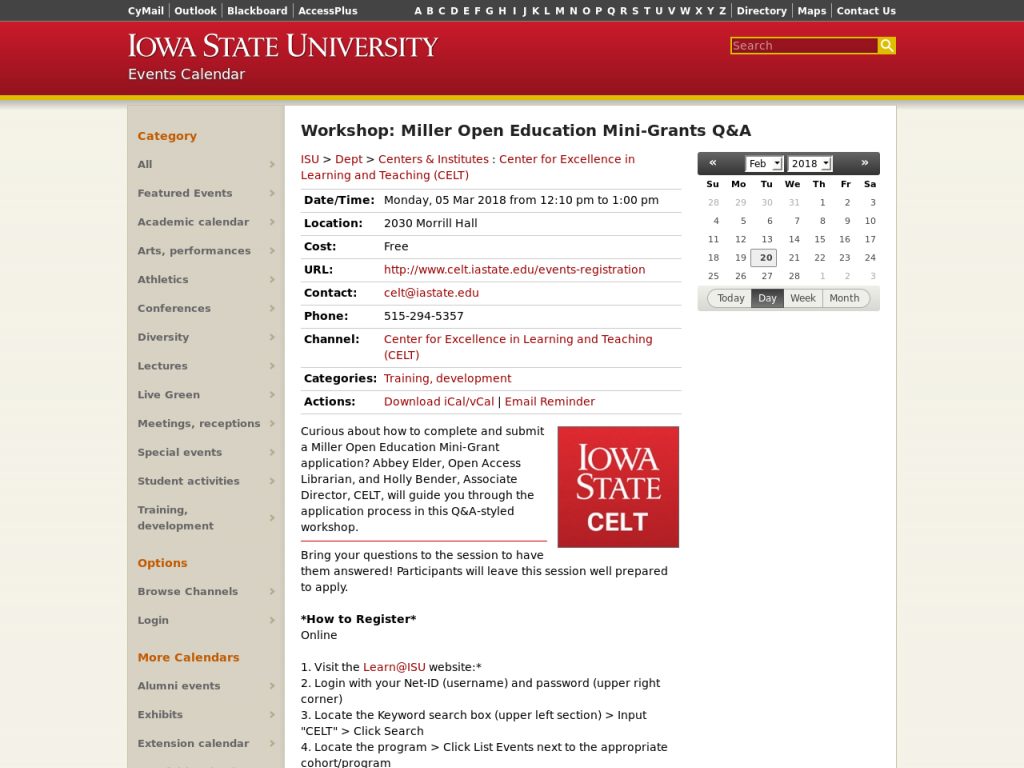 Isu Academic Calendar.About How To Participate Projects Resources Events Event Schedule