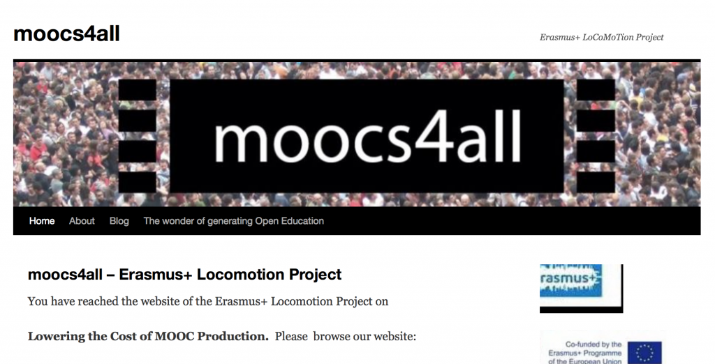 Anyone can build a MOOC!