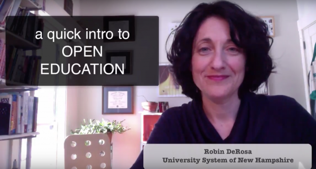 A Quick Intro to Open Education