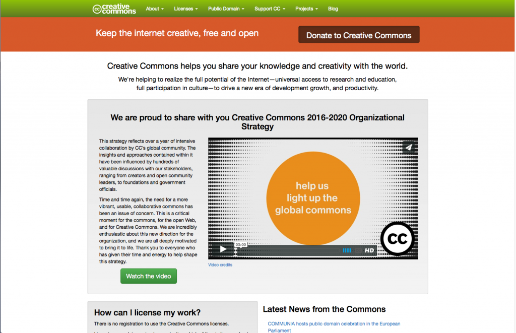 An Introduction to: Creative Commons, Open Educational Resources & Open Policies